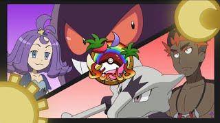 Kiawe vs Acerola Pokemon Sun and Moon Episode 131 English Dub