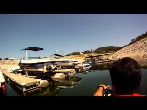 Raul & Scott ripping it on Jet-skis @ Lake Travis