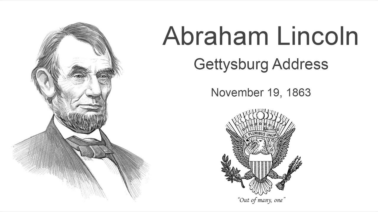 abraham lincoln gettysburg address