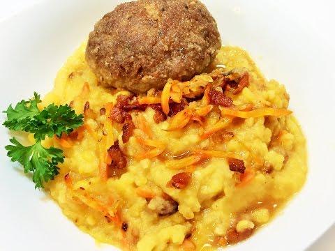 Блюда из гороха - рецепты -