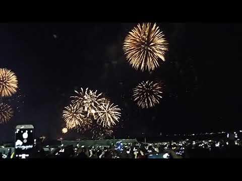 Dubai Burj Al Arab fireworks 2020