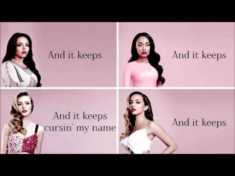 Little Mix - Love On The Brain (Rihanna Cover) (Lyrics + Pictures)