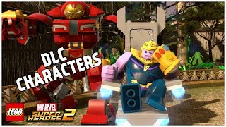 Avengers: Infinity War - LEGO Marvel Superheroes 2 - ALL DLC CHARACTERS (Part 6)