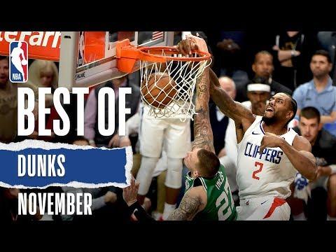 NBA's Best Dunks   November 2019-20 NBA Season