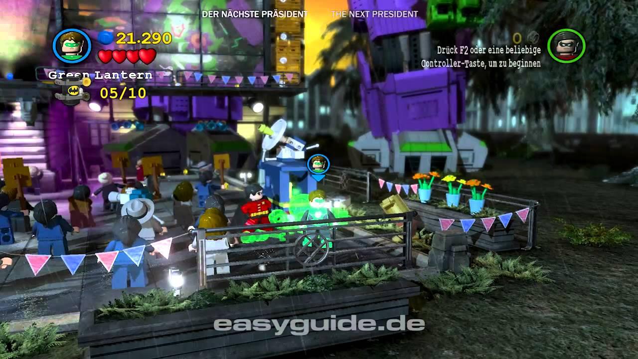 """Lego Batman 2: Minikit-Guide - Fundorte Kapitel 12 """"Der ..."""