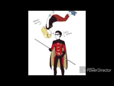 WonderBird ~ Timothy Drake & Cassandra Sandsmark