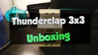 Qiyi Thunderclap 3x3x3 unboxing