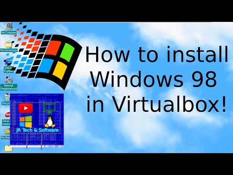 How To Install Windows 98 W/Display Drivers In VirtualBox