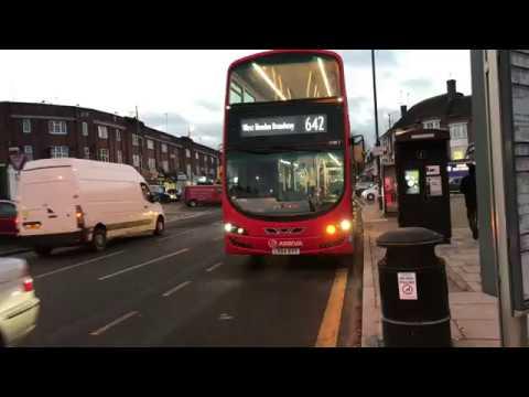 4K School Bus Route 642 - Arriva London Gemini 3 SW1