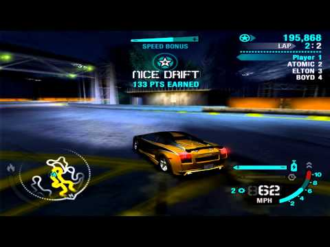Need For Speed Carbon: PS2 DEMO PLAYTHROUGH HD