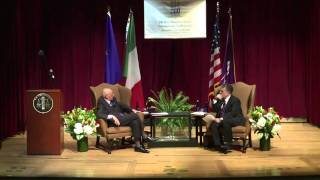 Il Presidente Napolitano alla New York University