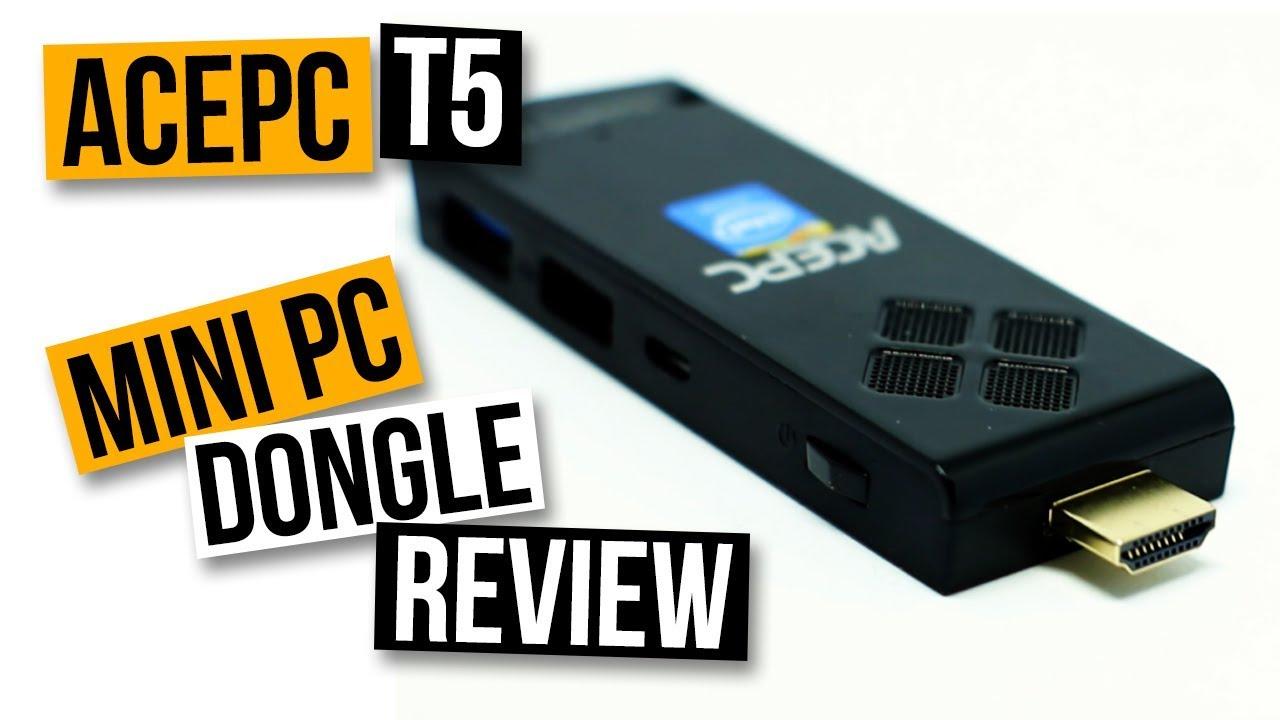 A 4K PC ON A STICK?! AcePC T5: Windows 10 Mini PC Dongle Review