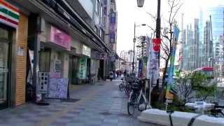 2017 東京自由行-淺草 UNIZO 優尼佐酒店步行往田原町地鐵站