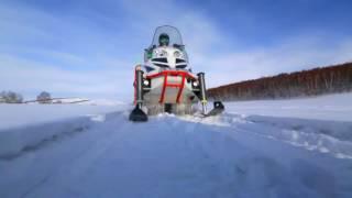 Такое могли сделать только в России! Снегоход Арктика 1500
