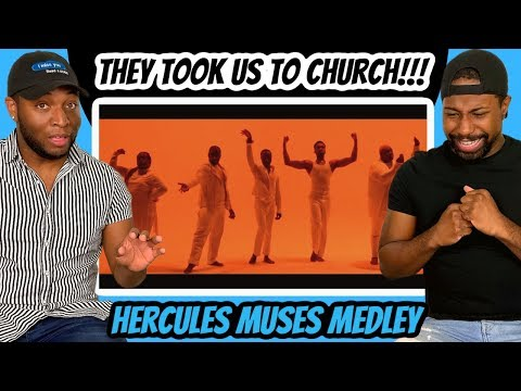 Vocalists REACT to Hercules Gospel Muses Medley (Reaction)