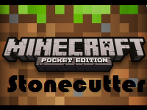 How To Make A Stonecutter In Minecraft For The Stonecutter Minecraft Pe Tutorial Youtube