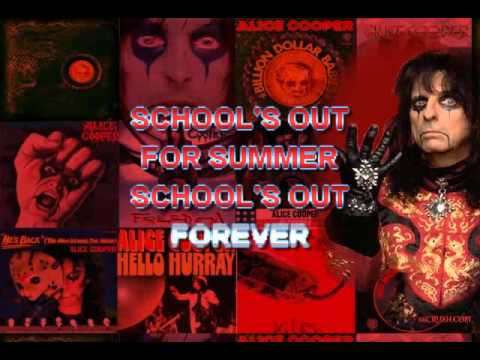 Alice Cooper - Schools Out - Karaoke