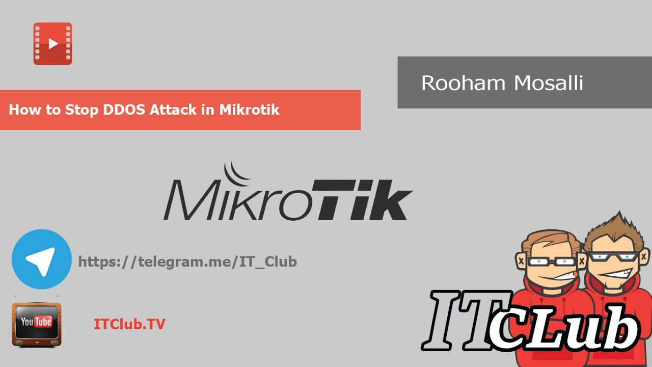 How to Block DDOS in MikroTik