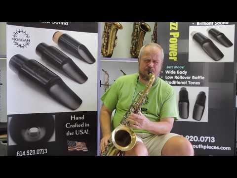Morgan Jazz Model Large Chamber Tenor Saxophone Mouthpiece Demo
