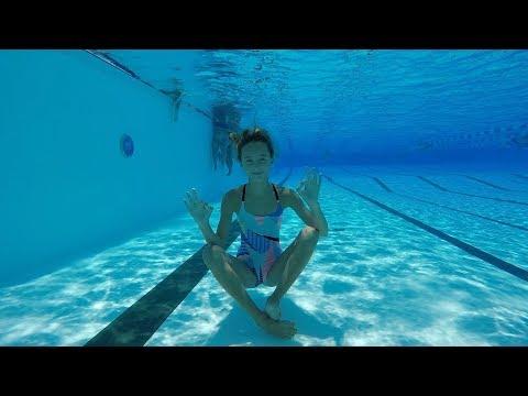 Carla underwater Relax and fun underwater