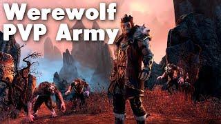 Werewolf PVP Army (Elder Scrolls Online)