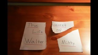 Secret Life of Walter Mitty Stop Motion Project