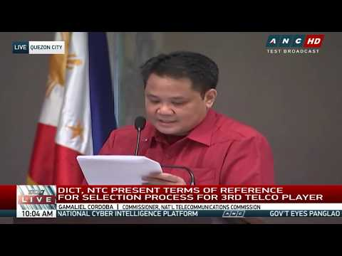 WATCH: DICT, NTC consult with stakeholders on third telco player