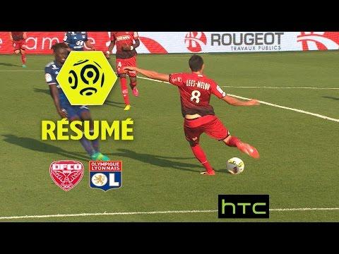 Dijon FCO - Olympique Lyonnais (4-2)  - Résumé - (DFCO - OL) / 2016-17