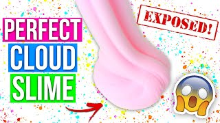 CLOUD SLIME TUTORIAL *perfect cloud slime every time*