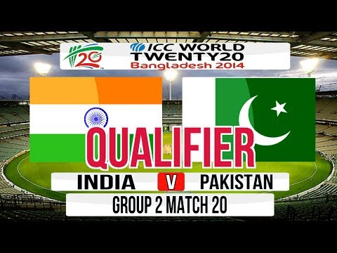 Cricket Game ICC T20 World Cup 2014 Super 8 Qualifier match  India v Pakistan Group 2 Match 20