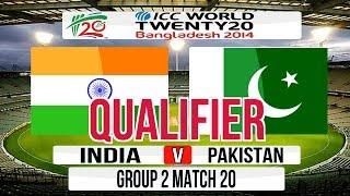 (Cricket Game) ICC T20 World Cup 2014 Super 8 (Qualifier match) - India v Pakistan Group 2 Match 20