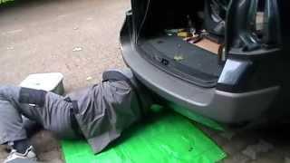 Renault Megane 2 - Задний бампер и фонари _ Stossstange und Rückleuchte hinten