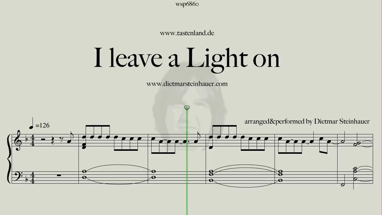 I leave a Light on - Tom Walker