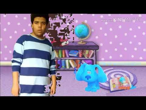 Blue's clues & you blue Ski-Doo into blue school