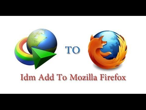 How To Add Idm Manually In Mozilla Firefox Add-ons ||  Idm  For Firefox