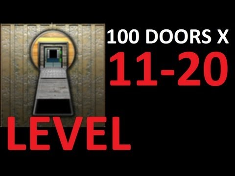 100 doors x level 11 20 door 11 to 20 walkthrough solution