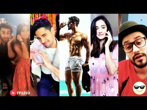 BEST Bollywood Actors Musical.ly Compilation 2017 |NEW #SuperStarmuser Musically Videos