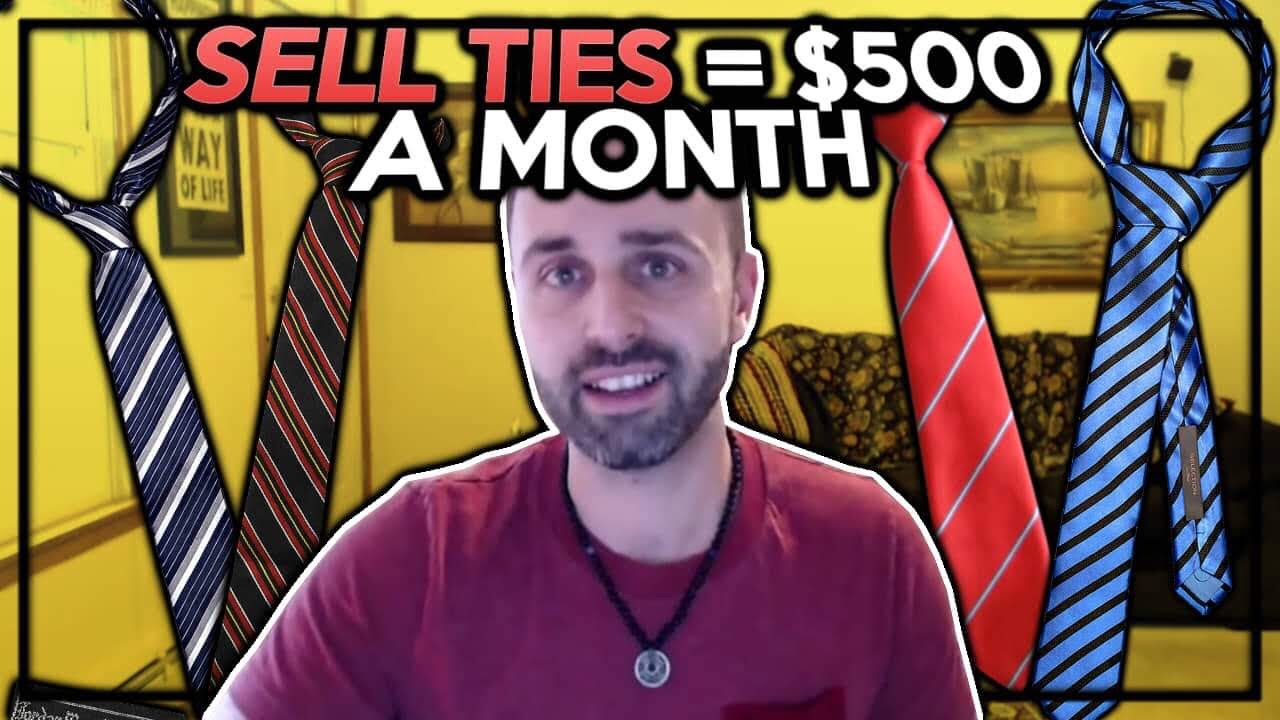 Make an EXTRA $500 a Month Selling Ties on eBay