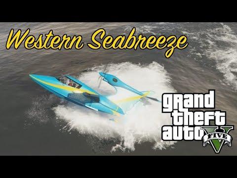 SPOOKY WESTERN SEABREEZE! - GTA 5 Smuggler's Run Update 8
