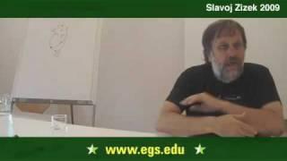Slavoj Žižek. Confronting Humanity & The Post-Modern. 2009 7/17