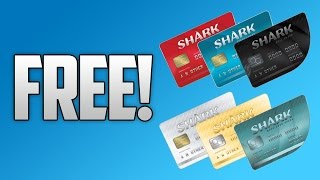 How To Get FREE Sharkcards in GTA 5 Online! (Xbox One, PS4, PC, Xbox 360 & PS3)