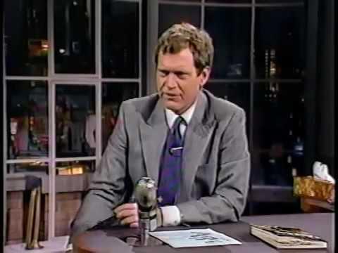 01141988 Letterman Artwork Donovan Jake Johannsen Megan Gallagher & 01151991 Howard Stern