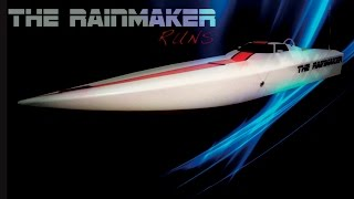 Rainmaker vs. big waves  rc boat