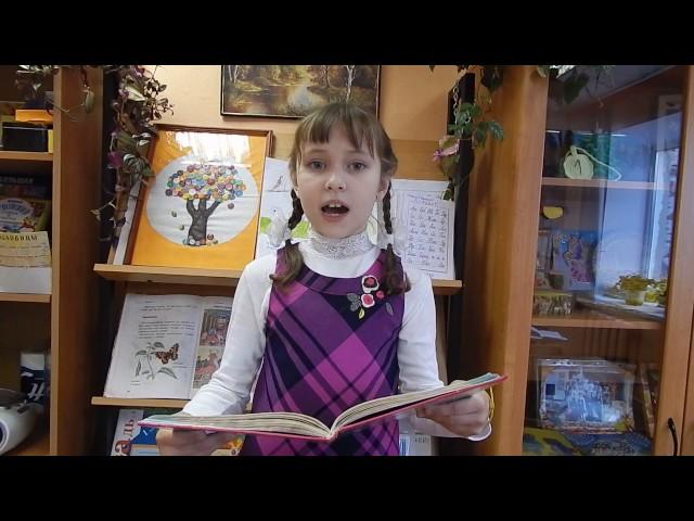 Изображение предпросмотра прочтения – ЕлизаветаНовожилова читает произведение «Весенние воды (Еще вполях белеет снег…)» Ф.И.Тютчева