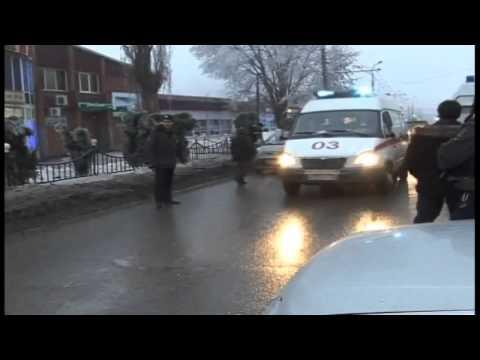 Volgograd trolleybus blast