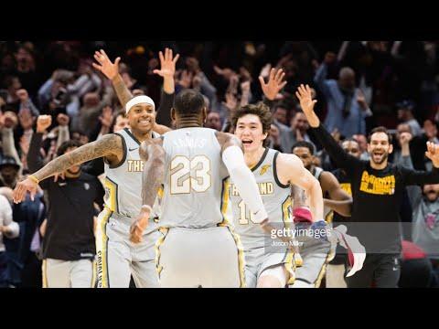 LeBron James'ten tarihe geçecek inanılmaz game winner! [Cedi Osman'la sevinci 🇹🇷]