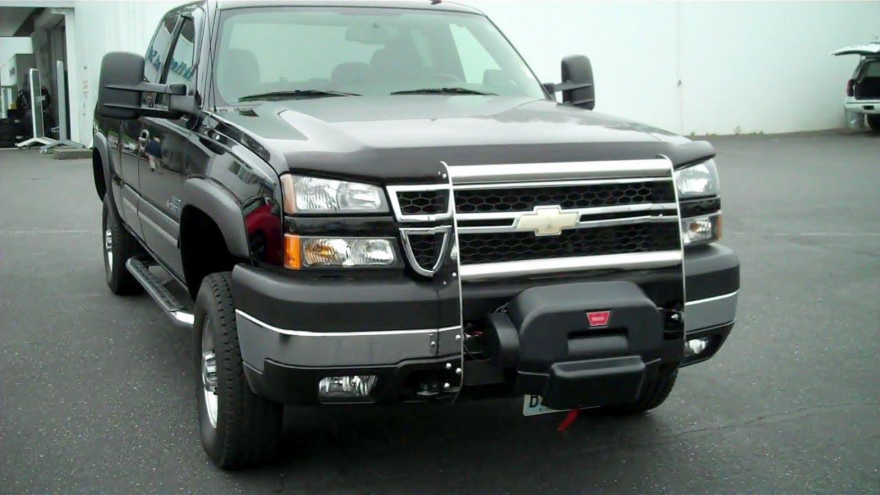 2006 chevrolet silverado 2500hd lt 4wd duramax 6 6l v8 turbo diesel youtube