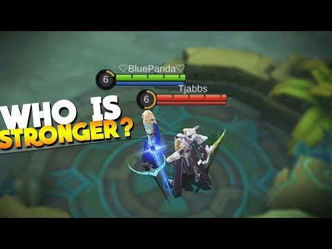 Lancelot vs Argus! Best 1v1 Ever! Mobile Legends New Hero