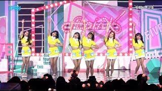 [예능연구소 직캠] 에이핑크 파이브 @쇼!음악중심_20170701 FIVE Apink in 4K