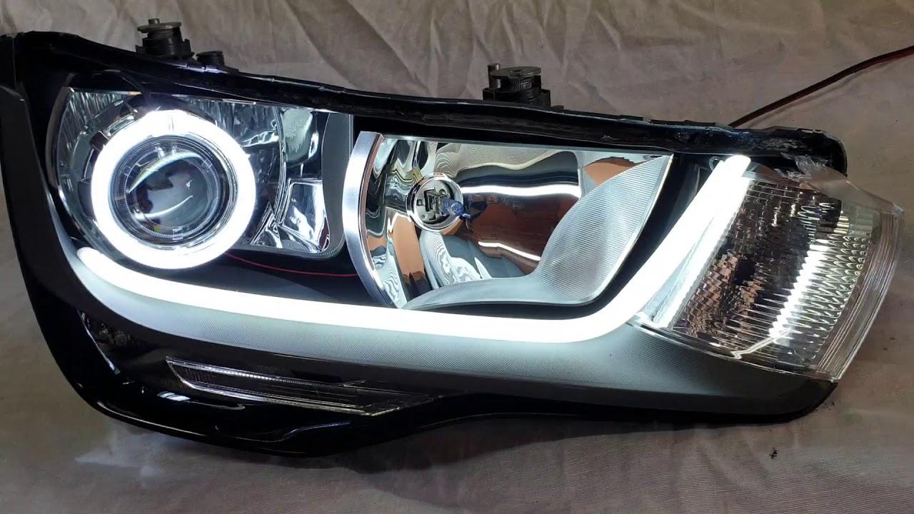 Audi A1 Conversion Led Headlights Fari Led Bixenon Youtube